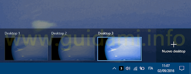 Icona Virtual Desktop Enhancer per desktop virtuali Windows 10