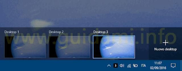 Icona Virtual Desktop Enhancer per desktop virtuali Windows 10
