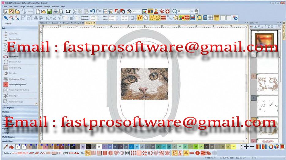 Software Selling Fastpro Bernina Embroidery Software V8 Download