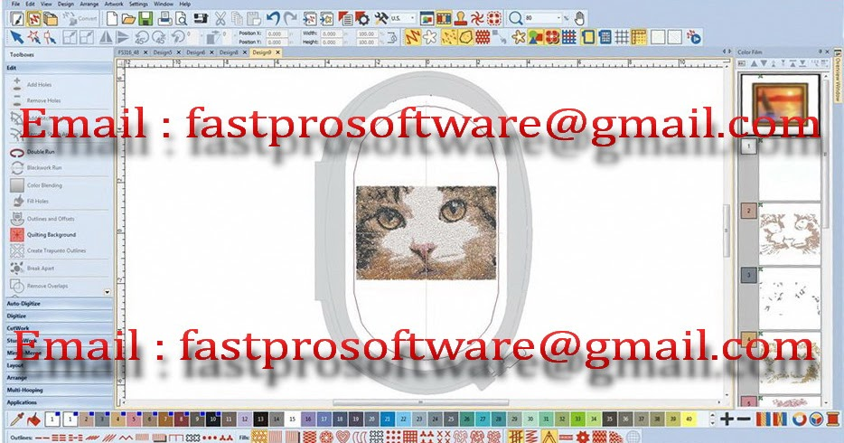 Software Selling Fastpro Bernina Embroidery Software V8 Download