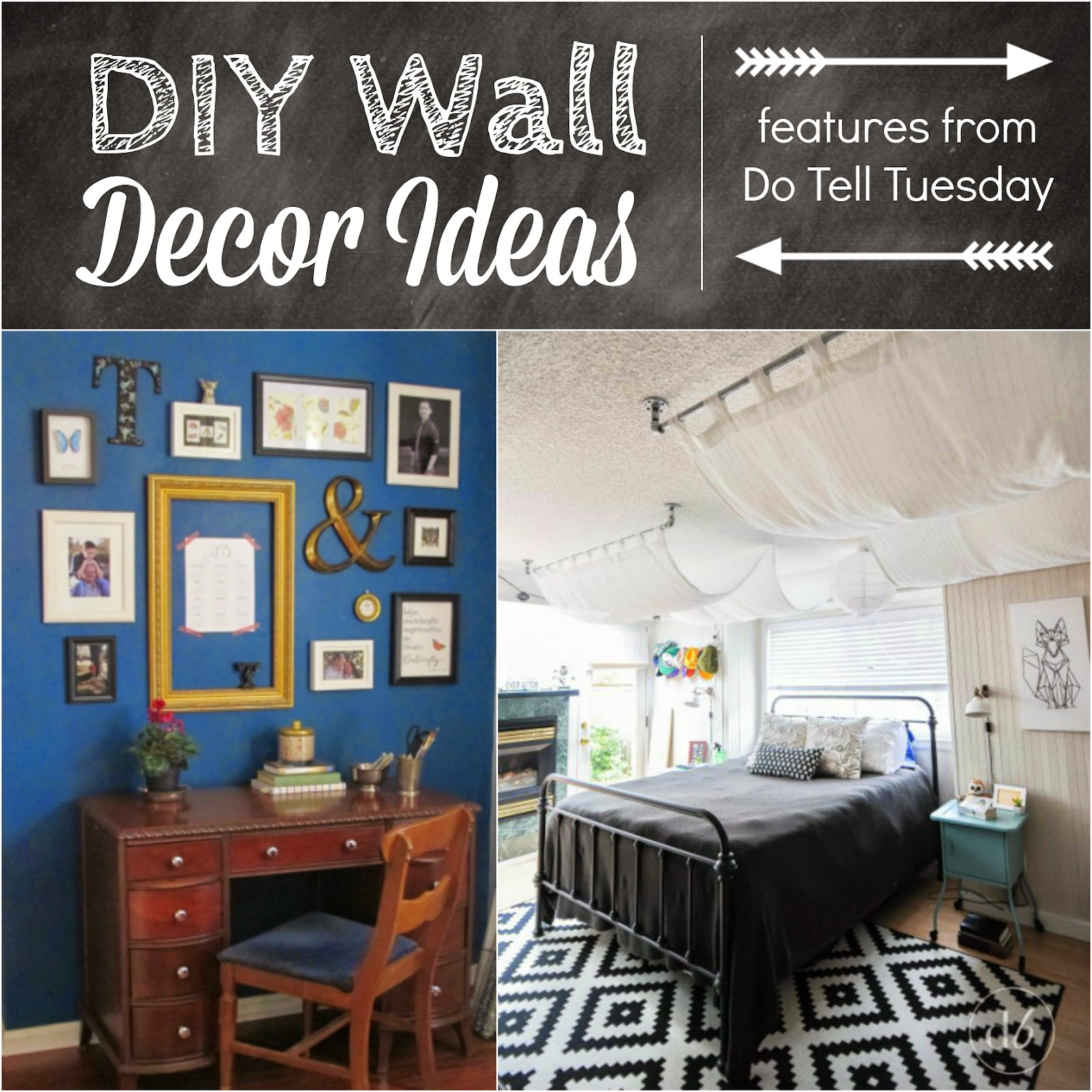 DIY Wall Decor Ideas & Do Tell Tuesday #62! ~ Diane's ...