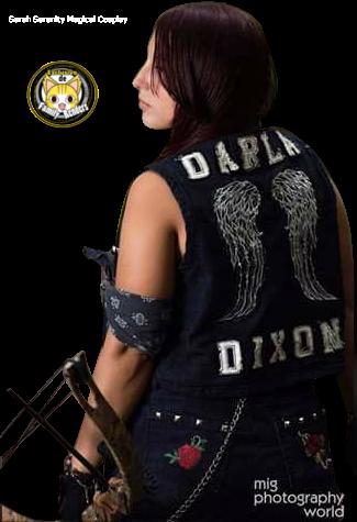 RENDER Daryl Dixon -Female Cosplay