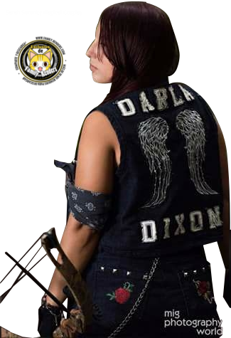 RENDER Daryl Dixon -Female Cosplay