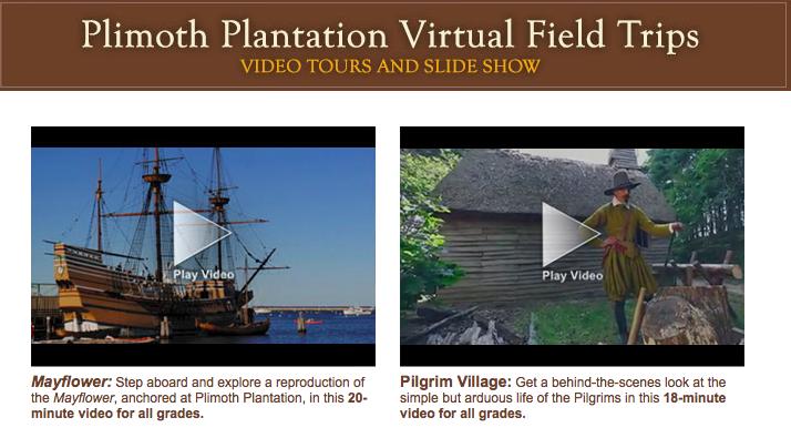 Barnard Tech Integration Grades 1 3 Preparing For Plymouth Plantation
