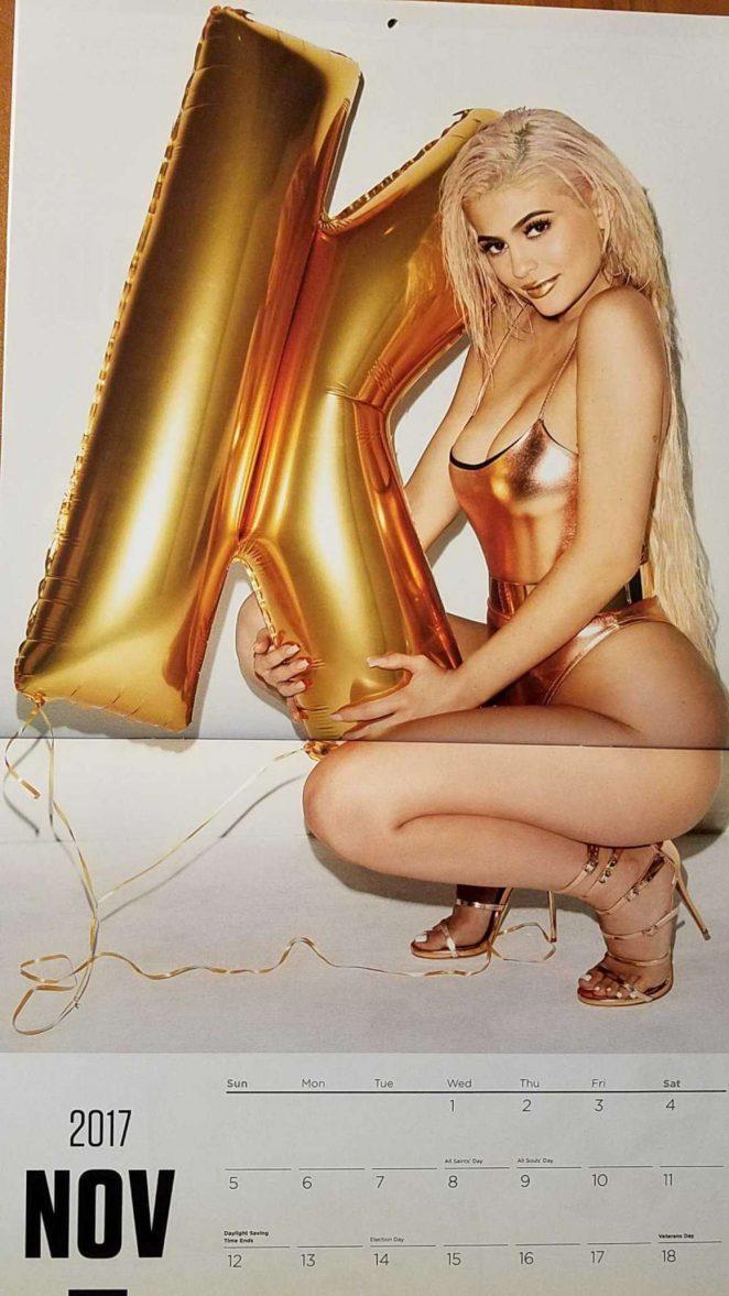 Kylie Jenner - 2017 Calendar, by Terry Richardson : November