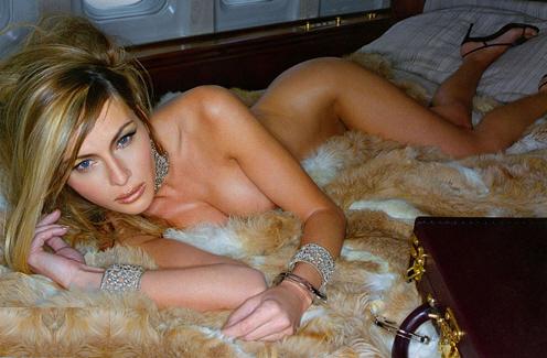 Melania Trump, γυμνή 1