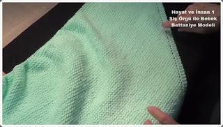 Örgü Bebek Battaniye Modelleri 1
