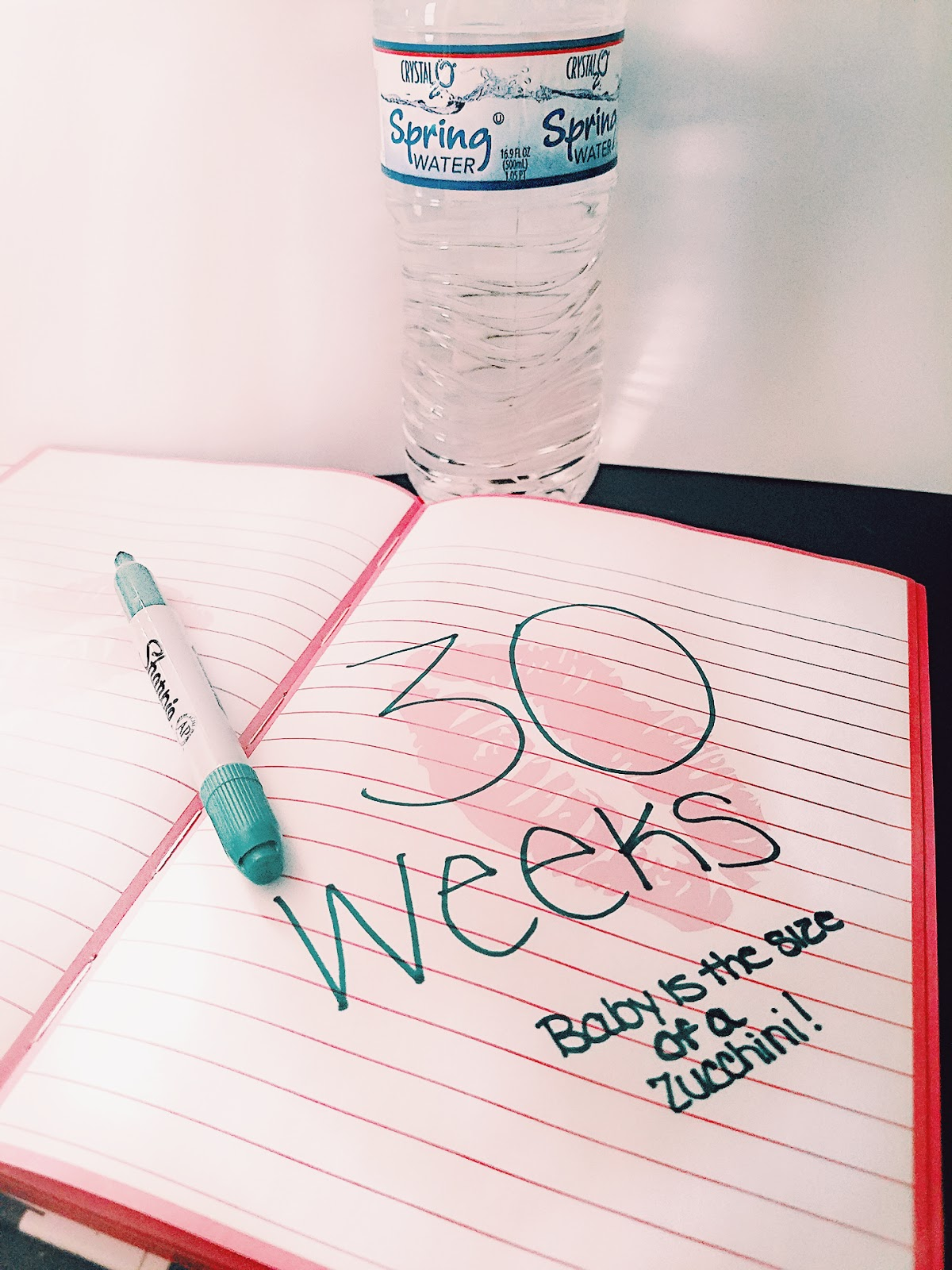 30 weeks, pregnant, third trimester, trimester, baby, baby boy, LizForeverrr