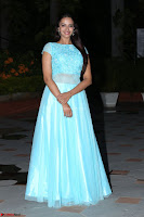 Pujita Ponnada in transparent sky blue dress at Darshakudu pre release ~  Exclusive Celebrities Galleries 108.JPG