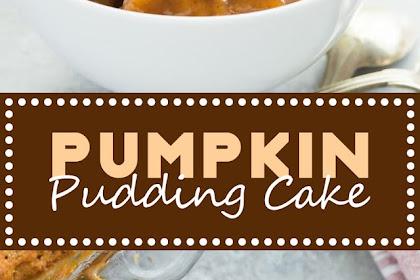 PUMPKIN PUDDING CAKE