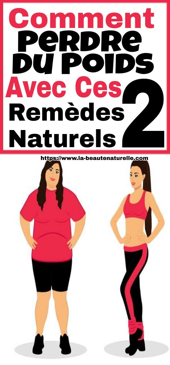 Comment perdre du poids avec ces 2 remèdes naturels