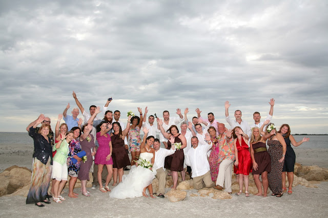 south seas resort wedding on sunset beach