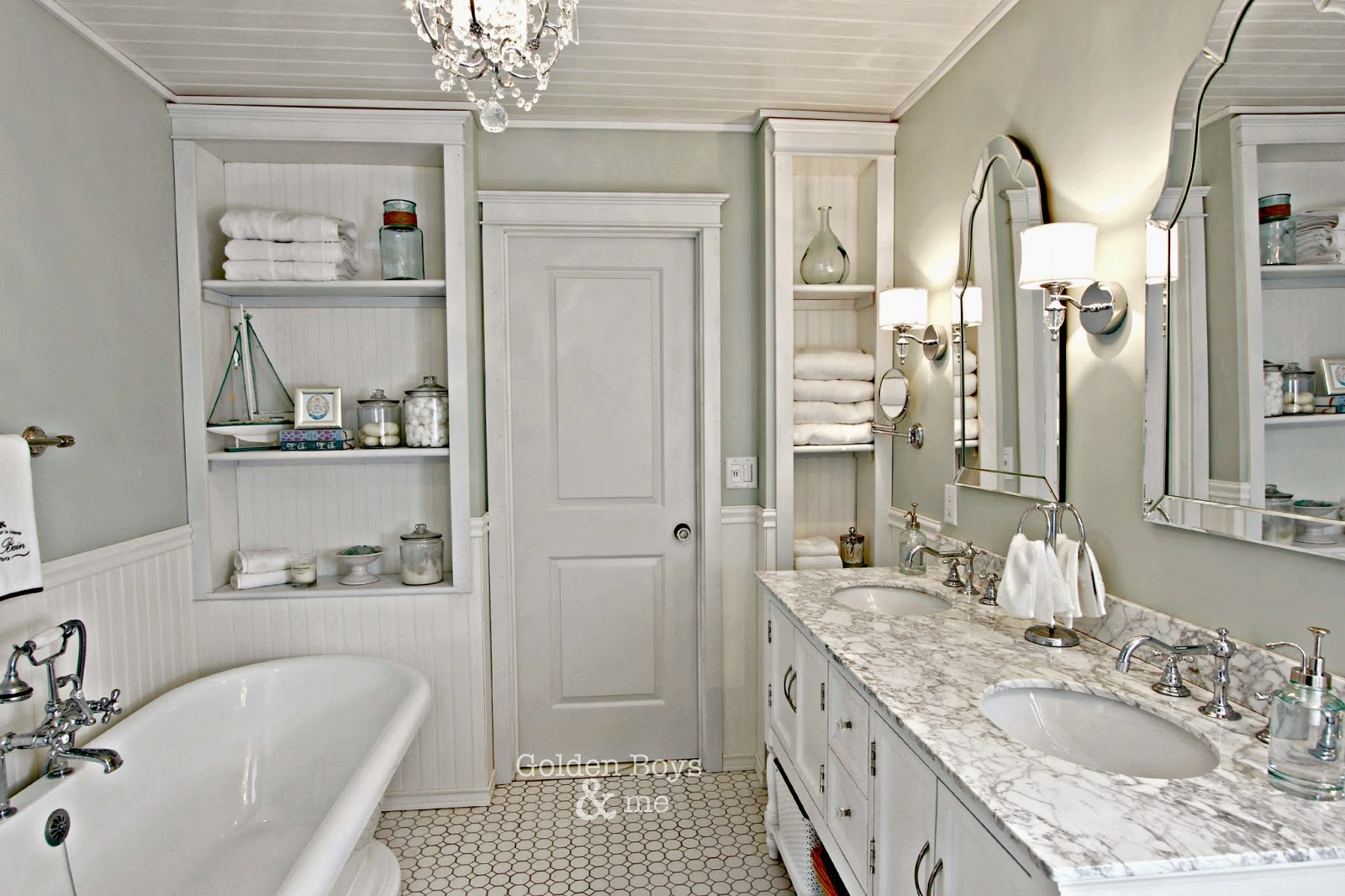 Golden Boys & Me Master Bathroom How I Found My Style Sundays From My Front Porch To Yours