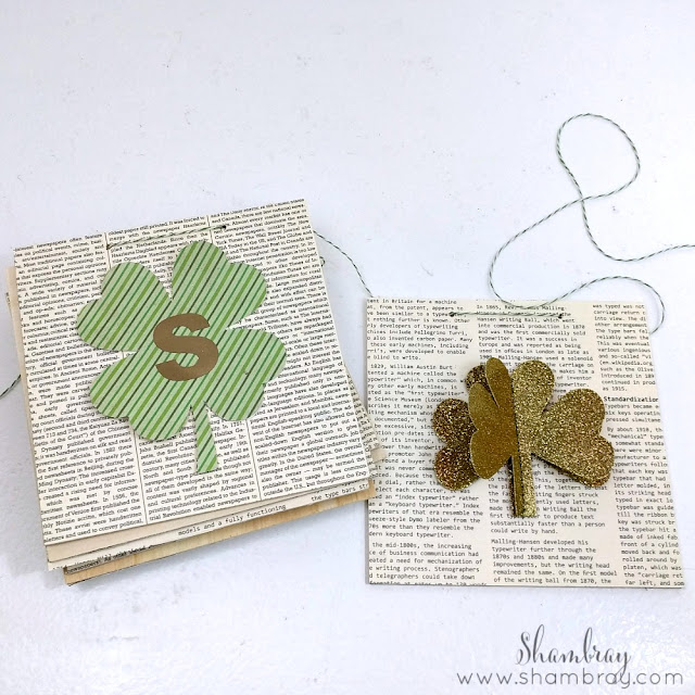 Wooden St. Patrick's Day Garland Attach Twine