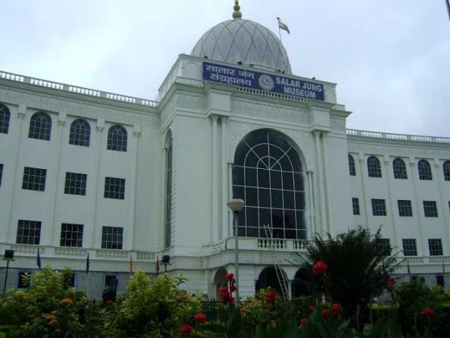 Salar Jung Museum in Hyderabad