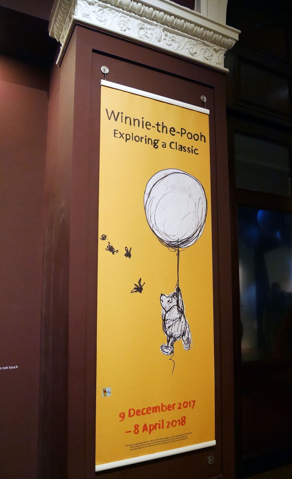 Winnie the Pooh: Exploring a Classic exhibition at the Victoria and Albert Museum, London