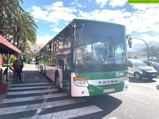 El Consejo autoriza el adelanto a los cabildos 20 millones de euros de la aportación estatal para el transporte colectivo por carretera