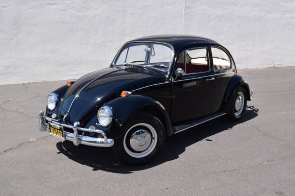 1967 Volkswagen Black Beetle