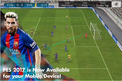 Download and play PES ISO 2017 apk plus data version