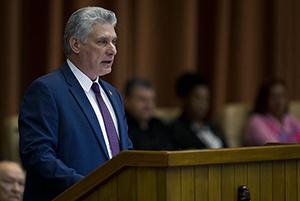 """Cuba: Miguel Díaz-Canel: """"Es hora de actuar sin dogmas ni formalismos"""""""