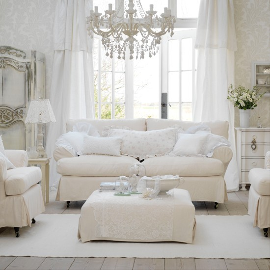Shabby Chic Living Room Ideas For Decorating