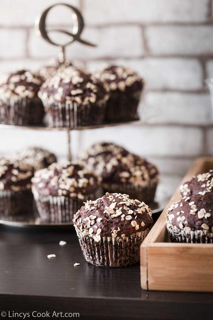 Healthy breakfast muffins recipe