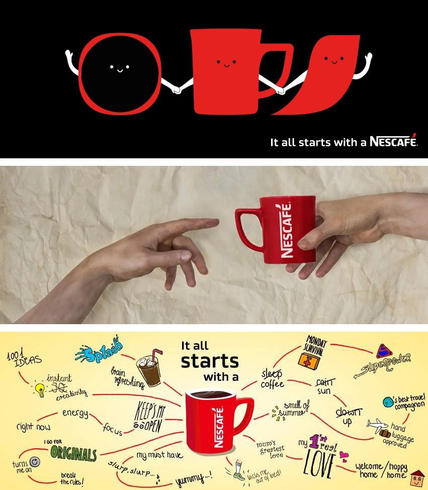 Nuevo logo para la marca global de Nescafe