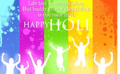 Happy Holi Pictures Facebook Status