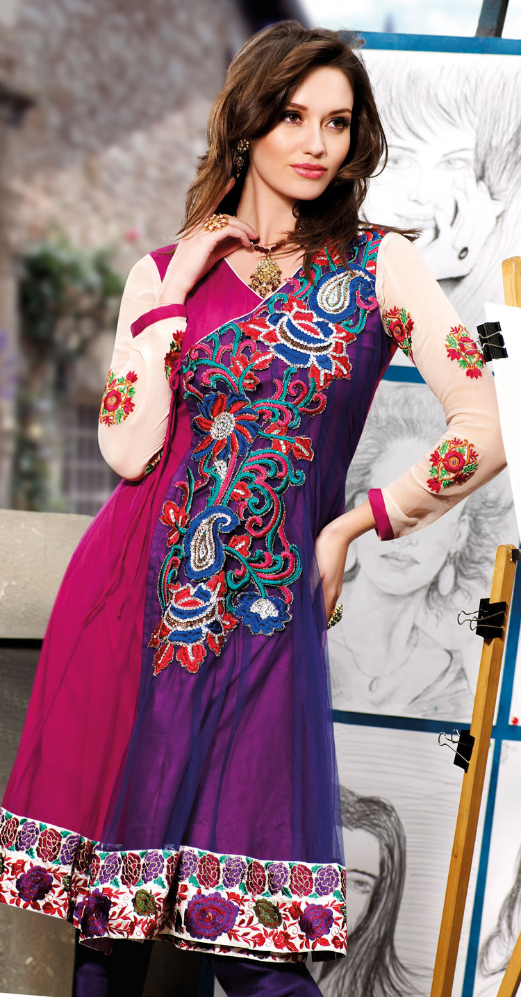 Indian Cultural Shalwar Kameez Dresses Of 2012