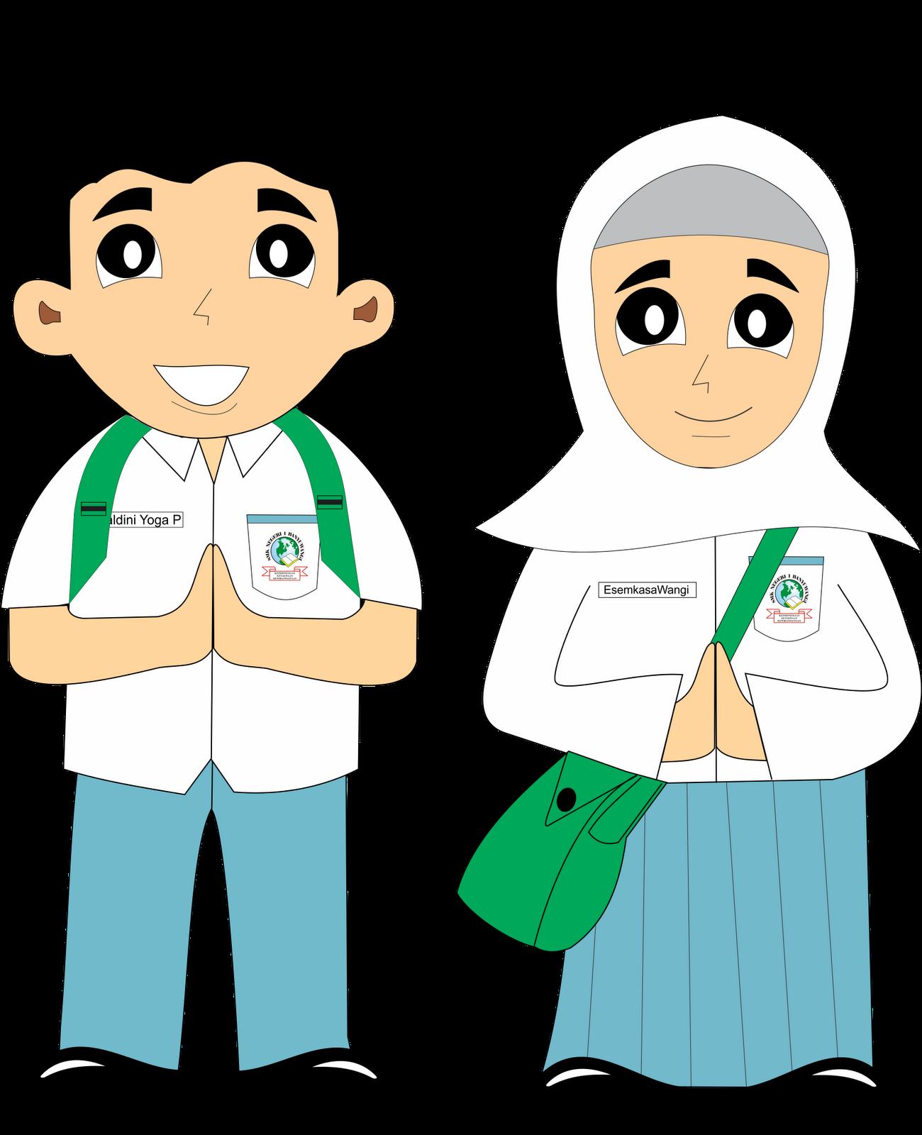 Animasi Siswa Smp : animasi, siswa, Gambar, Karikatur, Sekolah, Ideku