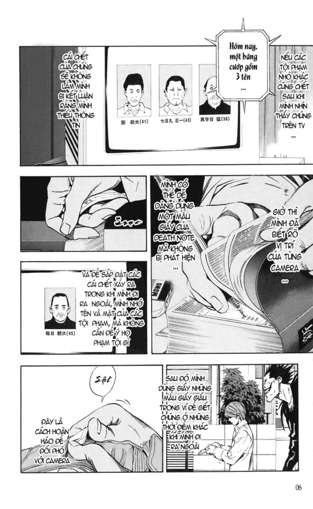 Death Note chapter 018 trang 7