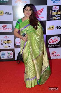 Kushboo Stills at Mirchi Music Awards 2016