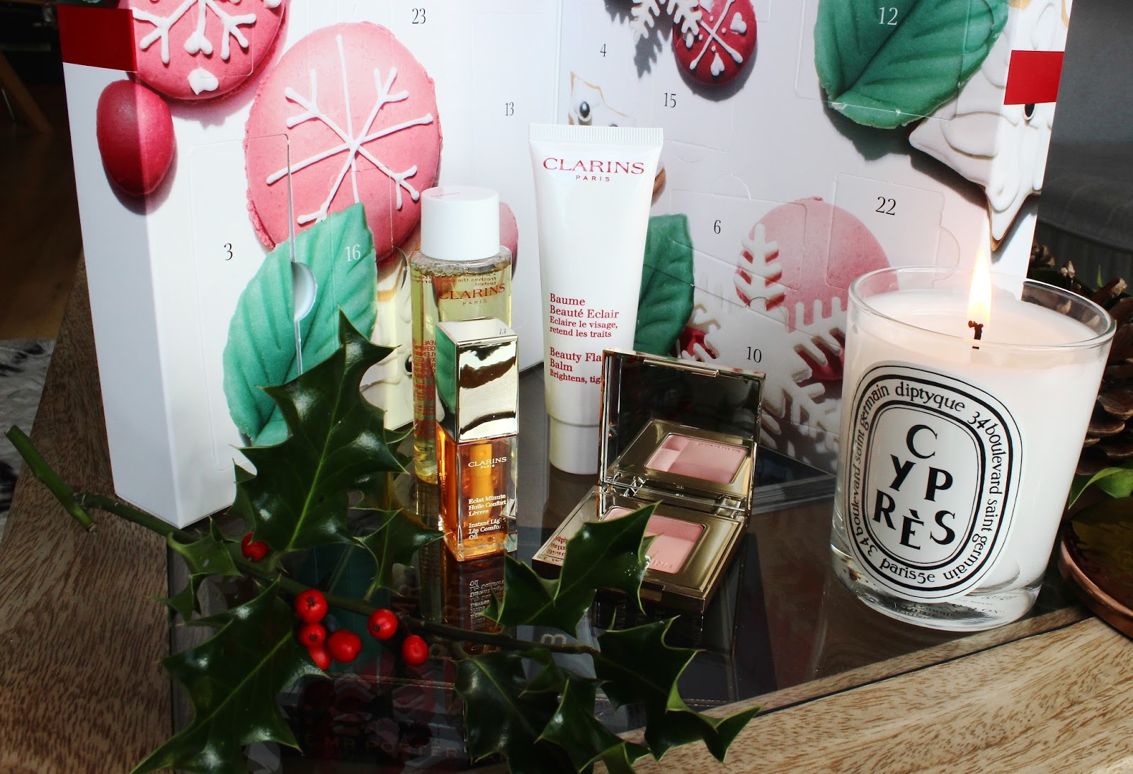 Clarins Beauty Advent Calendar