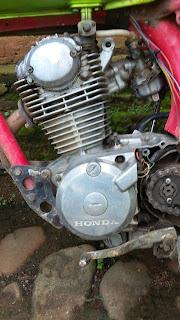 Mesin Honda GL MAX 1989