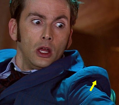 10th Doctor blue suit sleeve heads