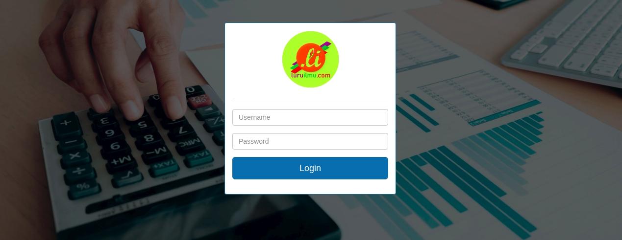 Membuat Database Dan Tampilan Login Aplikasi Penggajian Tutup Kurung
