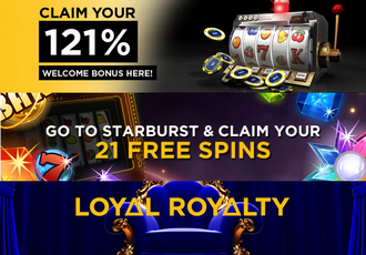 Twenty One Casino Screen