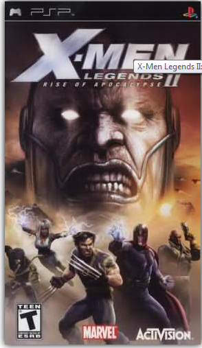 Download Game PPSSPP/PSP X-Men Legends II - Rise of Apocalypse (USA) ISO