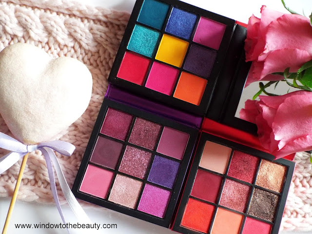 huda beauty mini obsessions palettes compare review