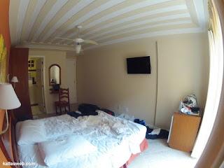 Quarto do hotel em Búzios/RJ.
