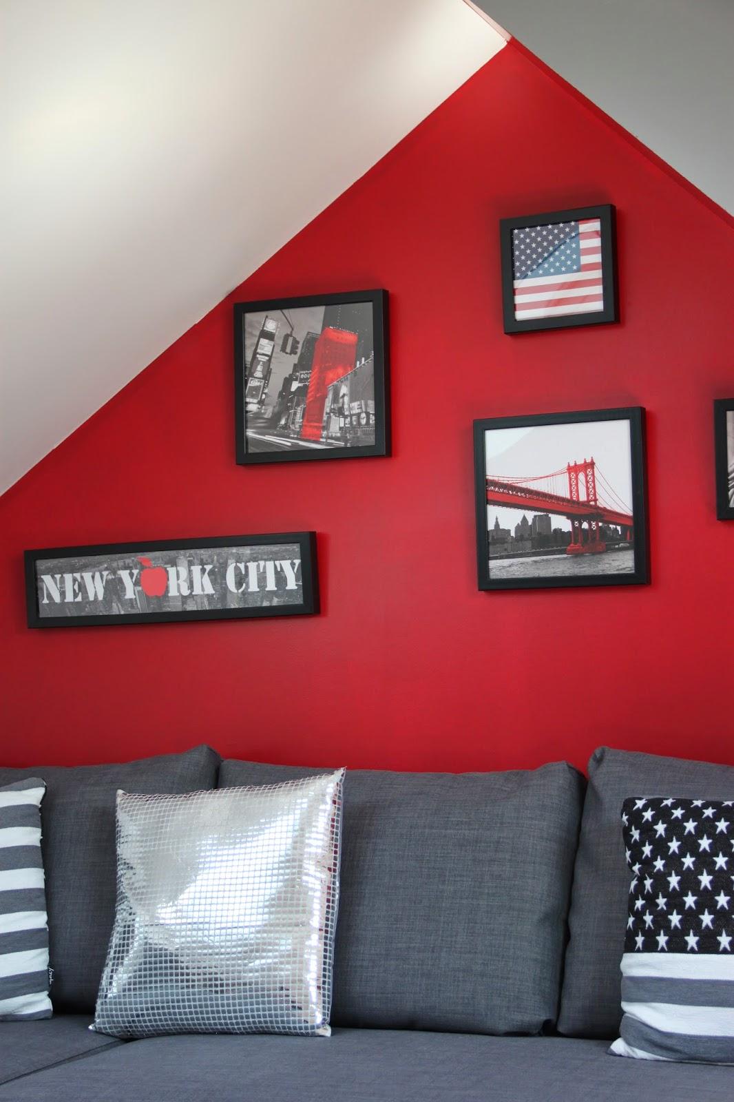 Chambre Sur Le Thème De New York déco : couleur chambre theme new york 17 perpignan, couleur
