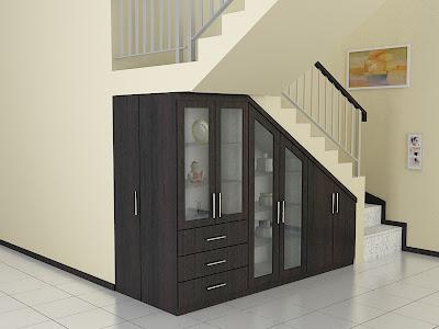 Desain Lemari Bawah Tangga Dian Interior Design