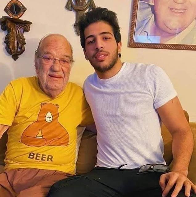 وفاة الفنان المصري حسن حسني .آخر ظهور له  قبل أيام من وفاته