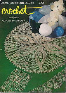 Back Cover to Coats Clarks Crochet Pattern Book No 516