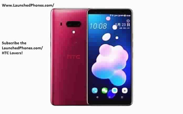 is officially launched together with this telephone is the  HTC Flagship telephone U12 Plus launched amongst the border sense