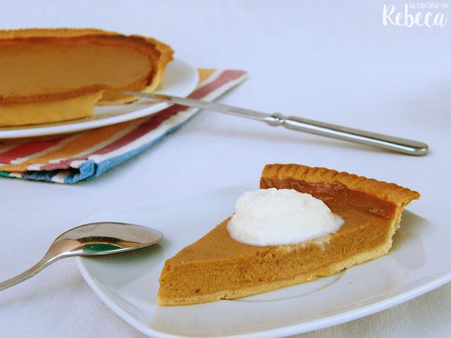 Pastel de calabaza (pumpkin pie)