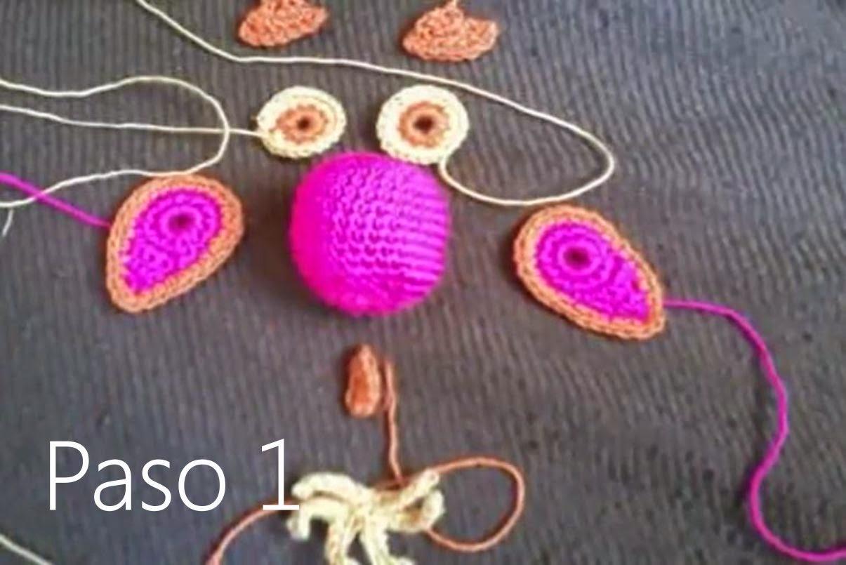 Buho Amigurumi a Crochet Paso 1
