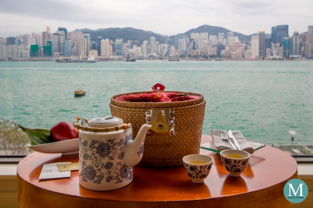 Welcome Amenity Deluxe Harbour View Room at Kowloon Shangri-La, Hong Kong
