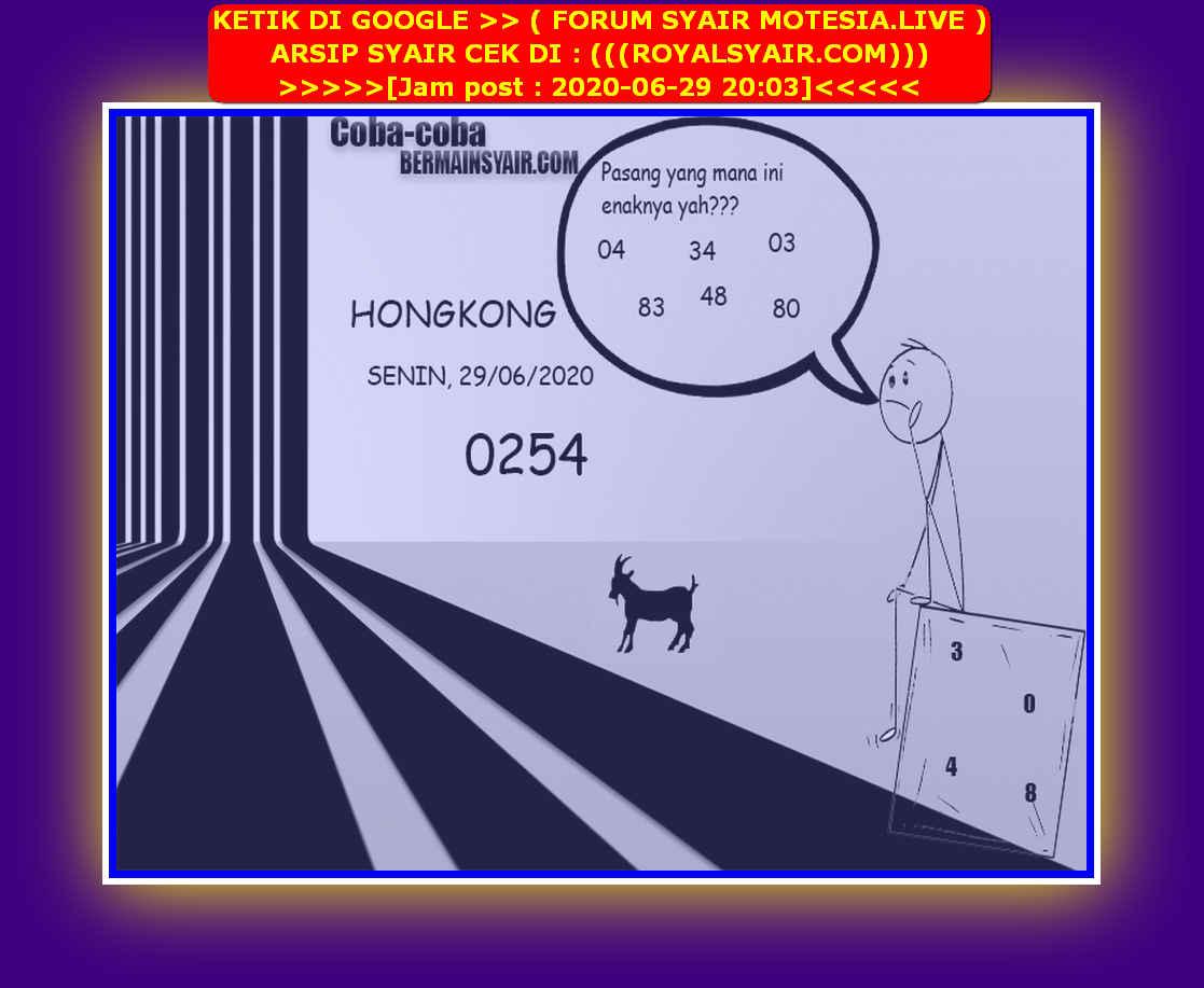 Kode syair Hongkong Senin 29 Juni 2020 137
