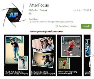 Rekomendasi aplikasi video bokeh android terbaik & gratis (afterfocus)